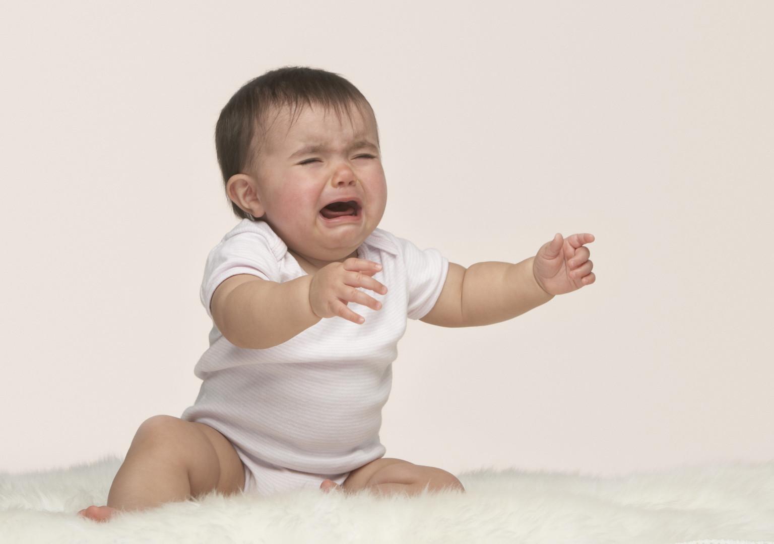 pianto del bebè e i suoi significati