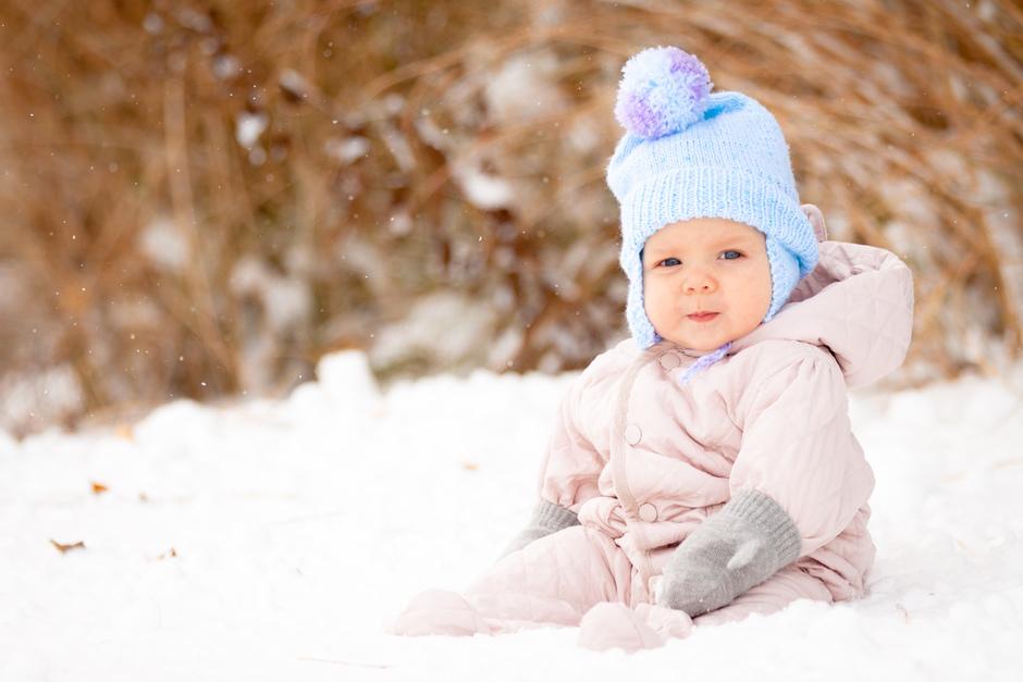 bambini vacanze sulla neve