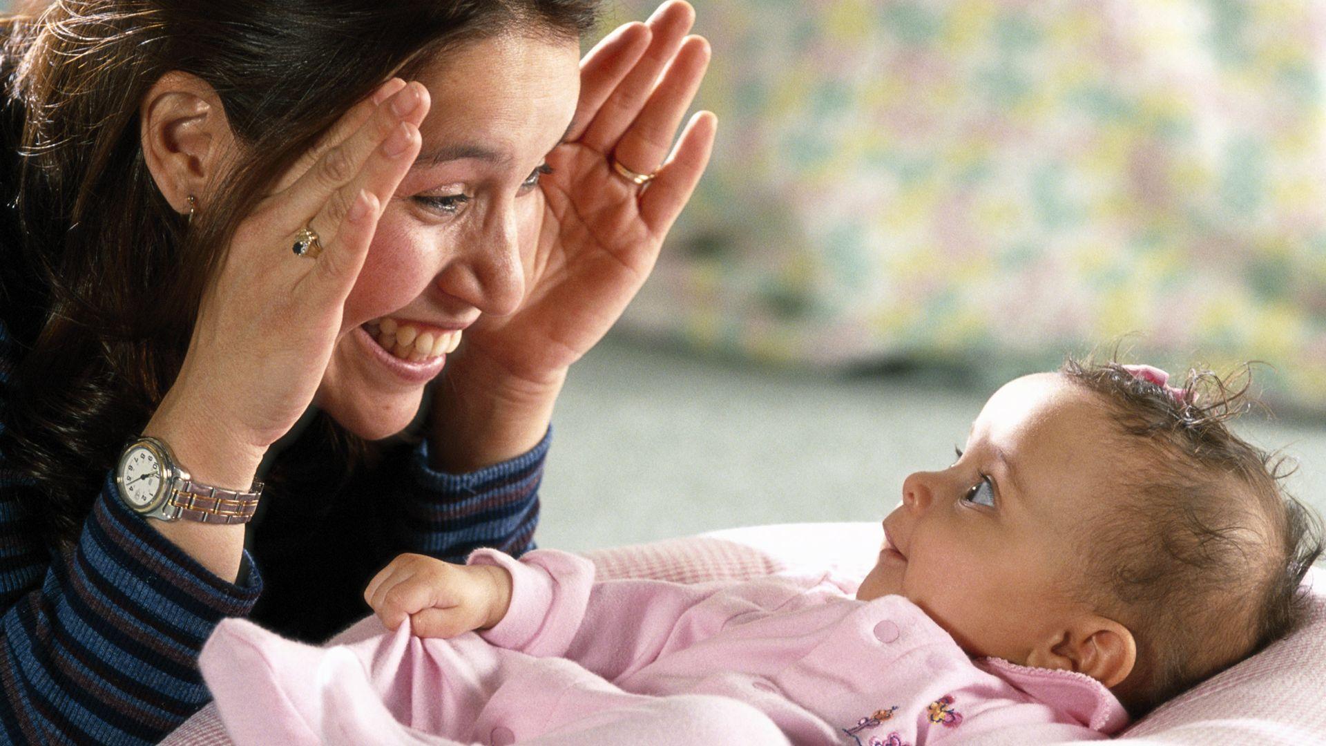 cucù, il gioco che appassiona i neonati