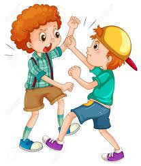 lotta per gioco tra bambini