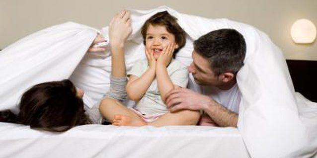 TORNA NEL TUO LETTO,bambini che vogliono dormire nel lettone