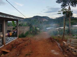 angolo di quartiere, intorno a Yaoundè