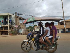 viabilità per le strade di Yaoundè