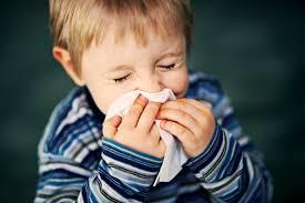 bambini con il raffreddore