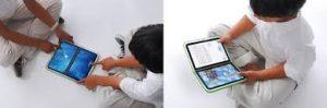 bambini e adulti alla scoperta della tecnologia